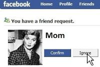 An Alternative To Being Your Child's Friend on Facebook?