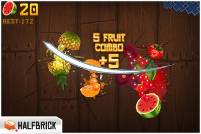 Fruit Ninja gameplay picture